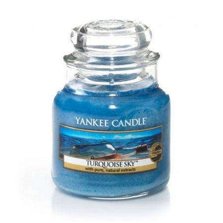 Yankee Candle Aromás gyertya Classic kis türkizkék 104 g