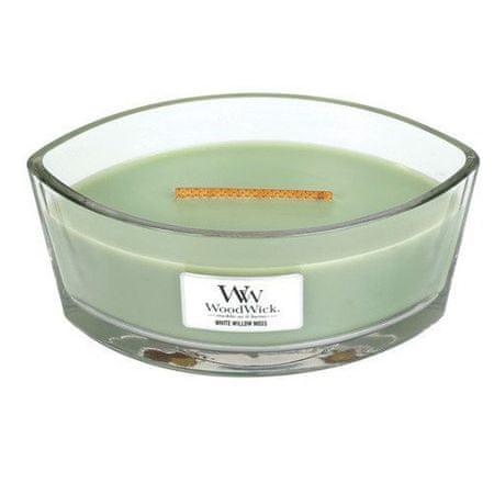 Woodwick Perfumowany statek świecy White Willow Moss 453 g