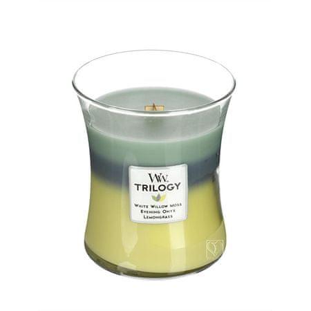 Woodwick Świeca zapachowa Trilogy Woodland Shade 275 g