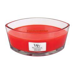 Woodwick Vonná sviečka loď Crimson Berries 453 g