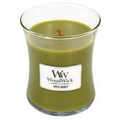 Woodwick Apple Basket illatgyertya üvegben 275 g