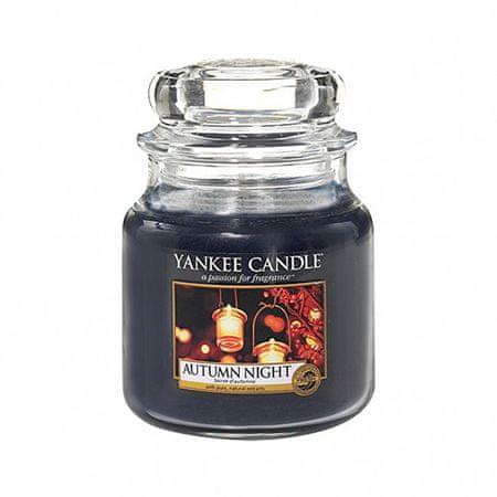 Yankee Candle Illatgyertya ClassicAutumn Night 411 g - közepes