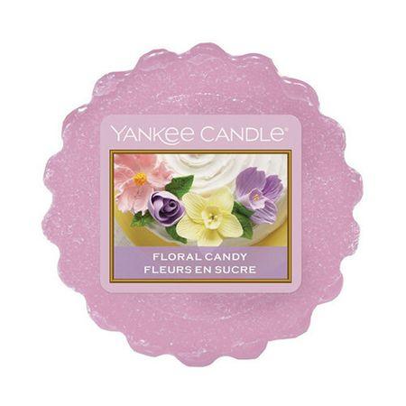 Yankee Candle Zapachowy wosk kwiatowy Cukierki 22 g