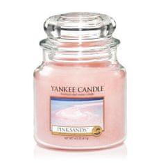 Yankee Candle Aromatični svečniki srednje Pink peski 411 g