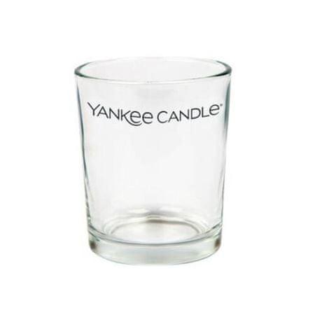 Yankee Candle Everyday Essential átlátszó üveg gyertyatartó illatgyertyához
