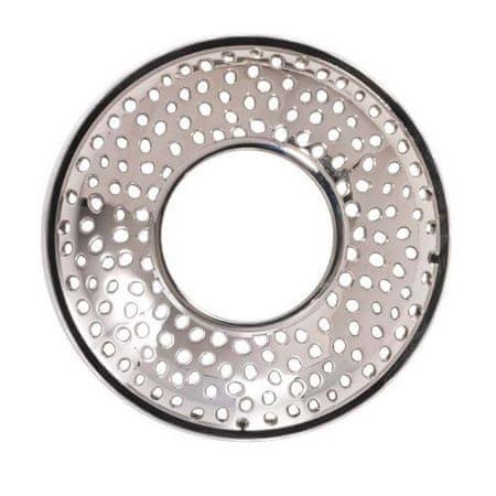 Yankee Candle Ozdobný prstenec Kensington Silver Metal na vonnou svíčku velkou a střední 1 ks