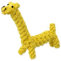 Dog Fantasy Hračka žirafa 16 cm
