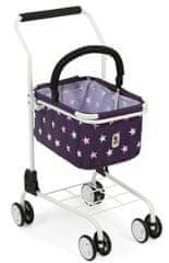Bayer Chic wózek na zakupy z koszykiem - Gwiazdki