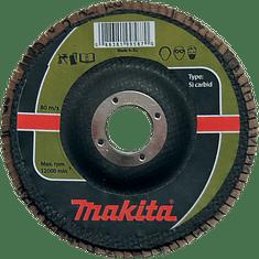 Makita brusni disk z lističi za kamen, 115mm, K120