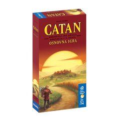 Družabna igra Catan - dodatek za 5. in 6. igralca
