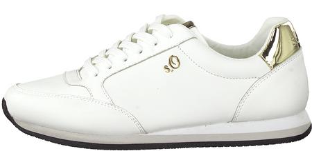 s.Oliver ženske tenisice, 23640, 40, bijele