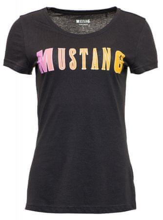 Mustang ženska majica, XS, črna
