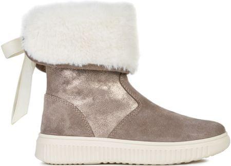 Geox Discomix dekliški zimski škornji, bež, 31