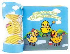 DBB Remond Vodné hračky z kaučuku s kúpacou knihou, 3ks