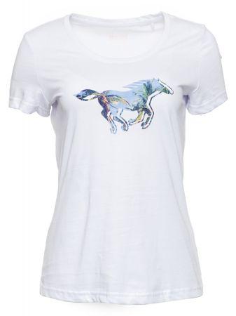 Mustang ženska majica, XS, bela
