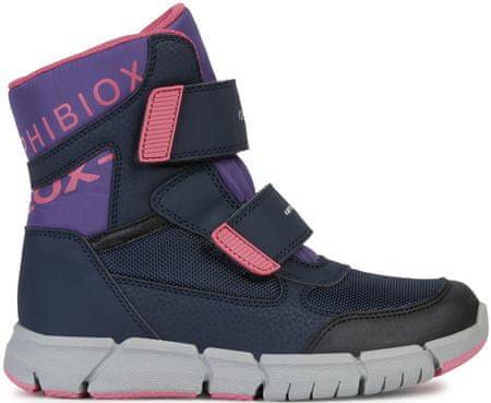 Geox dievčenské zimné topánky Flexyper 34 viacfarebná