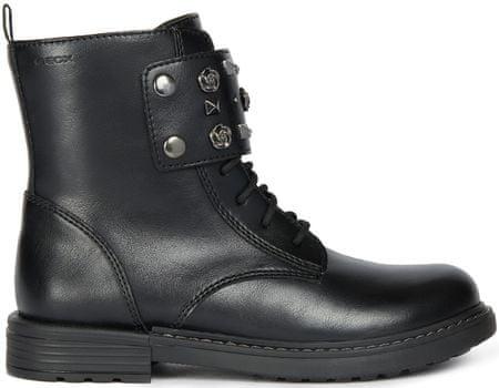 Geox dziewczęce buty do kostki Eclair 32 czarne