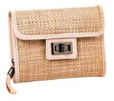 Verde Dámska peňaženka 18-0922 Straw Beige