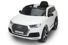 Beneo Elektrické autíčko Audi Q7, EVA kola, kožené sedadlo, 12V, 2,4 GHz DO, 2XMOTOR, USB, SD karta