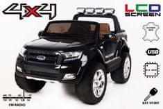 Beneo Elektrické autíčko Ford Ranger Wildtrak 4X4 LCD Luxury, LCD obrazovka, Pohon 4x4, 2 x 12V, EVA kola