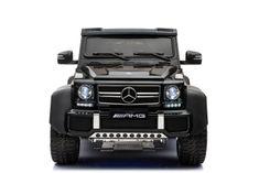 Beneo Mercedes-Benz G63 6X6 Elektromos gyermekautó, Lakkozott, LCD Kijelző, 6 Kerék