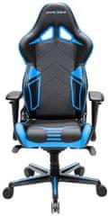 DXRacer Racing Pro RV131/NB, fekete/kék (RV131/NB)