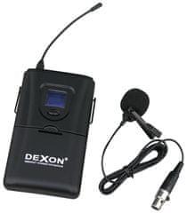 Dexon  Pouze vysílač za oděv s klopovým mikrofonem MBD 932T