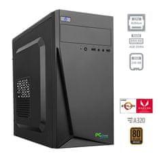 PCplus namizni računalnik I-NET 200GE/4GB/SSD 240GB/Vega3/FreeDOS (138065)
