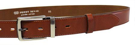 Penny Belts Férfi bőr öv 35-020-2-43 Brown (Öv hossza 100 cm)