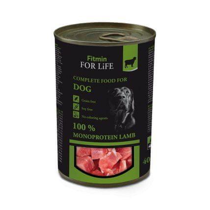 Fitmin Dog tin lamb 400 g