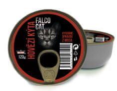 FALCO karma dla kotów Cat udziec wołowy, 8 x 120 g
