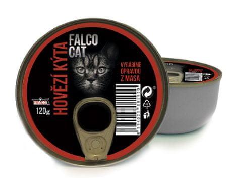 FALCO Cat hovězí kýta 8 x 120g