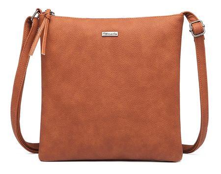 Tamaris crossbody kabelka Louise Crossbody Bag M 3065192 hnedá
