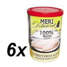 FALCO karma dla kotów MERI deluxe pierś z kurczaka bez kości, 6 x 400 g