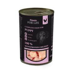 Fitmin Dog Tin Puppy mokra hrana za mlade pse, piletina, 400 g