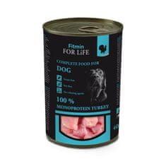 Fitmin Dog Tin mokra hrana za odrasle pse, puretina, 400 g