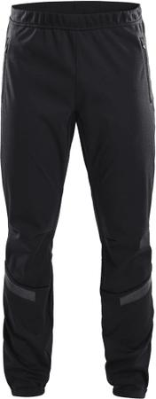 Craft Warm Train moške hlače, M, črne
