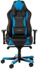 DXRacer Wide WY0/NB, fekete/kék (WY0/NB)