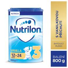 Nutrilon 3 Vanilla - batolecí mléko 800g, 12+