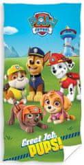 Carbotex ręcznik dziecięcy Psi Patrol Dobra robota