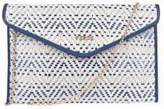Verde Dámska kabelka 01-1199 Blue