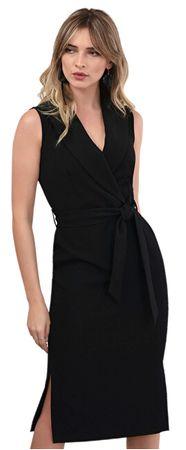 Closet London Női ruhaCloset Collared Pencil Dress Black (méret M)