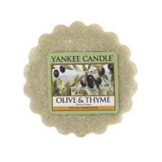 Yankee Candle Viasz illatos aromája lámpák olajbogyó és kakukkfű (Olive & kakukkfű) 22 g