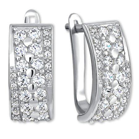 Brilio Silver Luksuzni srebrni uhani 436 001 00500 04 srebro 925/1000