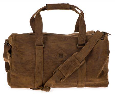 Enrico Benetti torba podróżna unisex Madrid 54601 brązowa