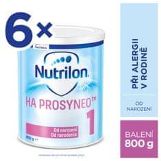 Nutrilon Nutrilon 1 HA PROSYNEO speciální kojenecké mléko 6x800 g