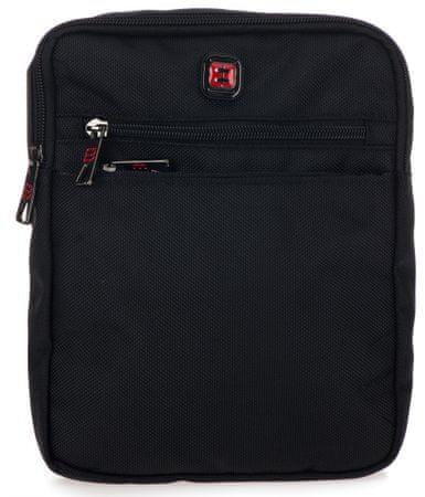 Enrico Benetti pánska crossbody taška Cornell 47196 čierna