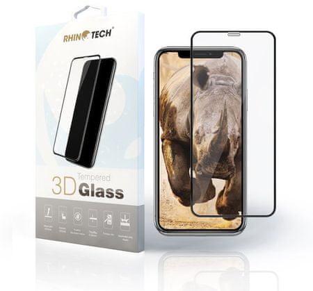 RhinoTech 2 zaščitno kaljeno steklo 2.5D za Samsung J6 Plus (Full Glue) Black RT158