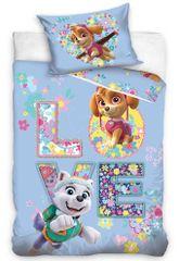 Carbotex pościel do łóżeczka dziecięcego Psi Patrol Love