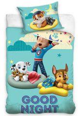 Carbotex pościel do łóżeczka dziecięcego Psi Patrol Good Night